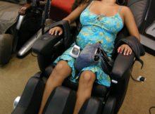 ghế massage cho bà bầu